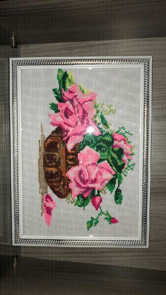 Used Hand made picture in needlepoint in Dubai, UAE