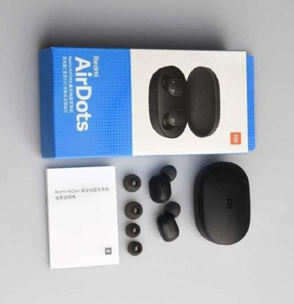 Used Airdots Wireless Bluetooth Earbuds Black in Dubai, UAE