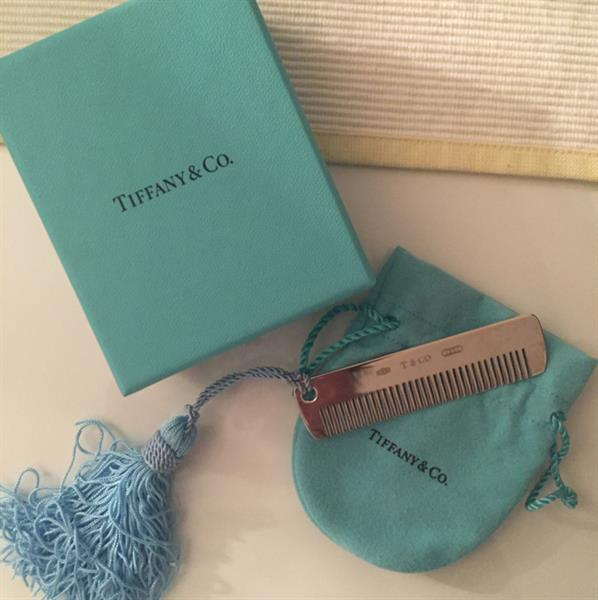 Used Authentic #Tiffany & Co. Baby Silver Comb With Blue Tassel. Brand New But Neew A Polish in Dubai, UAE