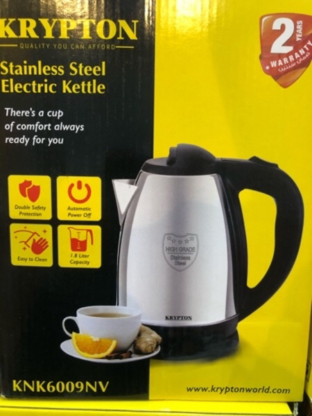 Used Electric kettle New 58/-aed. in Dubai, UAE