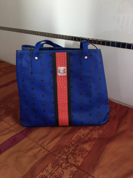 Used MCM Large Tote Bag with Pouch in Dubai, UAE