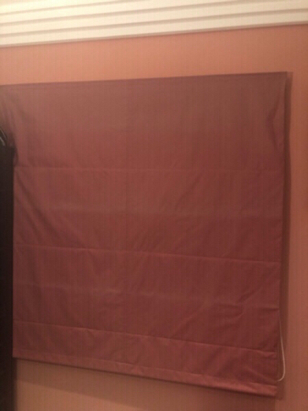 Used Fabric folding blinds. With black out in Dubai, UAE