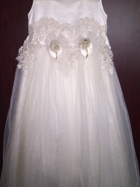 Used Girls party long dress  in Dubai, UAE