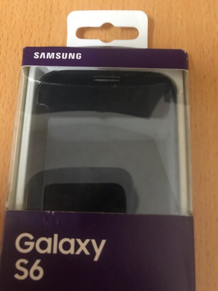 Used SAMSUNG GALAXY S6 CLEAR VIEW CASE BLUE in Dubai, UAE