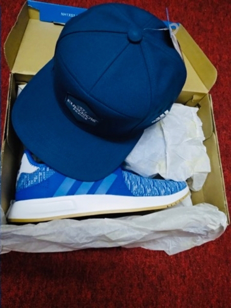 Used ADIDAS SPORTS SHOES AND CUP BUNDLE OFFER in Dubai, UAE