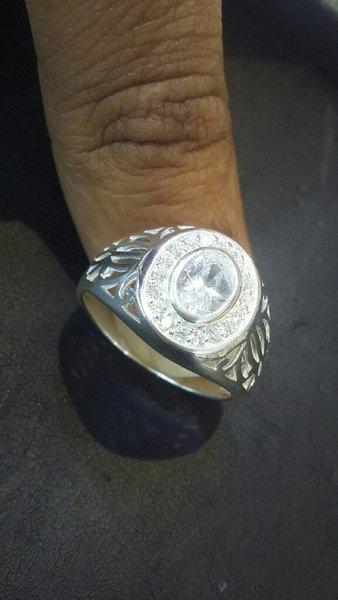 Used Italian silver 925 gents Ring (us size10 in Dubai, UAE
