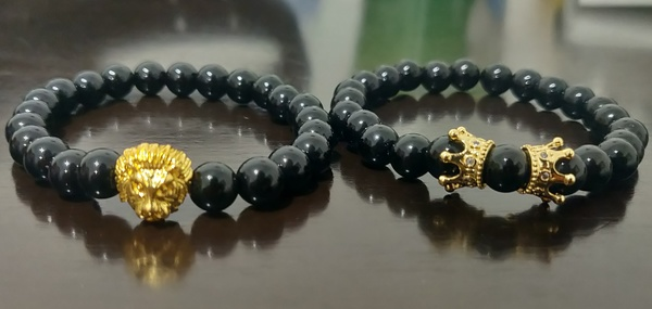 Used Unisex 2 Braided Bracelets and a Ring in Dubai, UAE