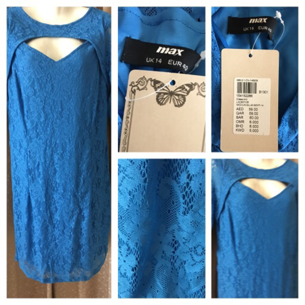 Used Dress/lace max size M in Dubai, UAE
