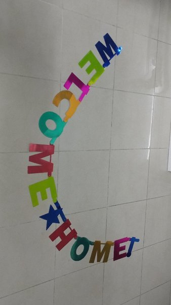 Used Welcome home hanging and set of markers in Dubai, UAE