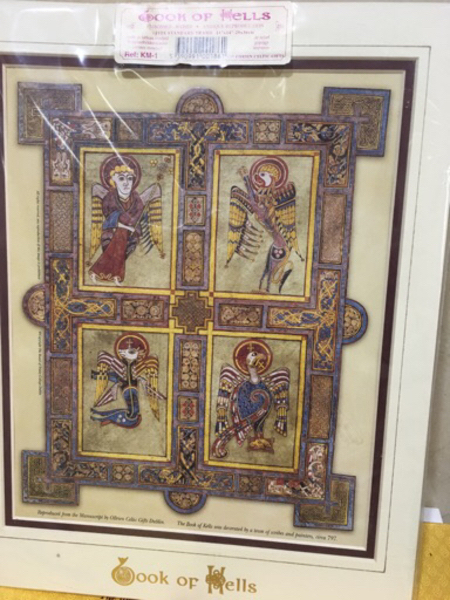 Used Colour print of Book of Kells in Dubai, UAE