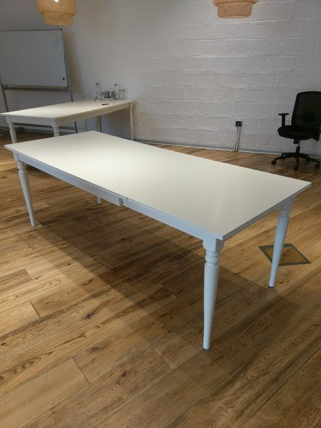 Used Ingatorp IKEA dining expandable table in Dubai, UAE