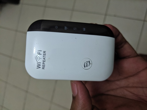 Used 2 in 1 Wireless Router & Repeater in Dubai, UAE