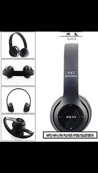 Used P47 HEADPHONE NEW PACKED BOX ONLY in Dubai, UAE