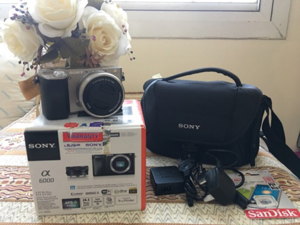 Used Sony A6000 , Brand new never used  in Dubai, UAE