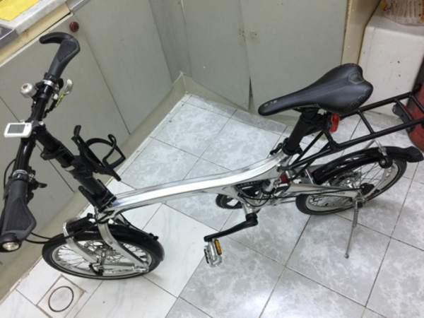 Used Birdy folding bike in Dubai, UAE