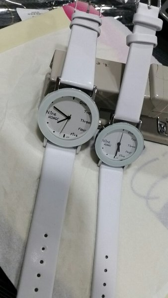 Used New Couple wrist watch leather band in Dubai, UAE