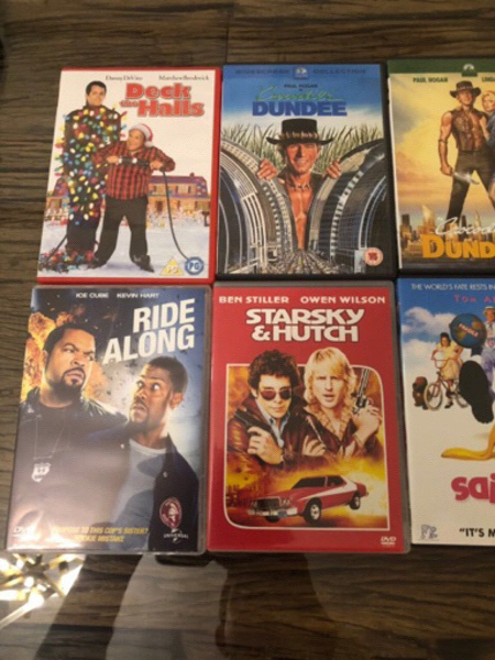 Used Original Comedy DVDs - Set 4 - 10 pcs in Dubai, UAE