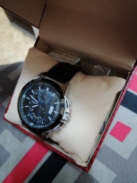 Used Bosck Genuine Leather Watch For Man's in Dubai, UAE