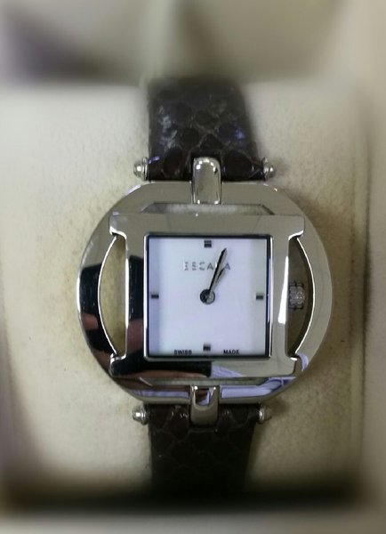 Used Escada watch sq silver case in Dubai, UAE