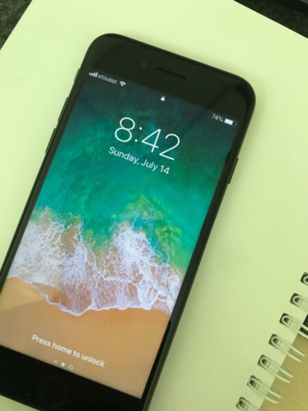 Used I Phone 7 128gb May black in Dubai, UAE