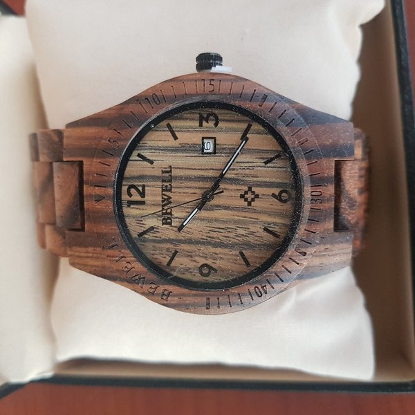 Used Bewell Wooden Watch last in Dubai, UAE