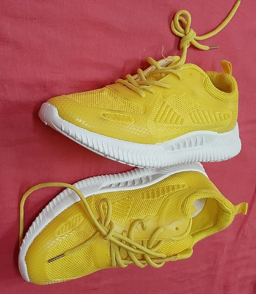 Used Yellow shoes for him, 41 size! in Dubai, UAE