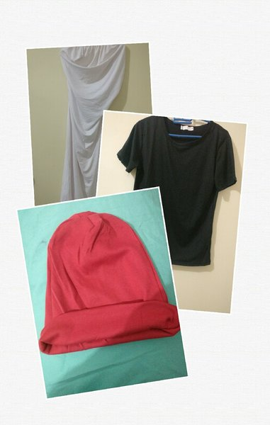 Used Fashion dress/t-shirt and hat in Dubai, UAE
