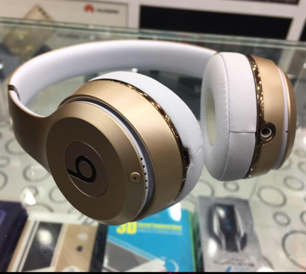 Beats Solo 3 Wireless Gold Color
