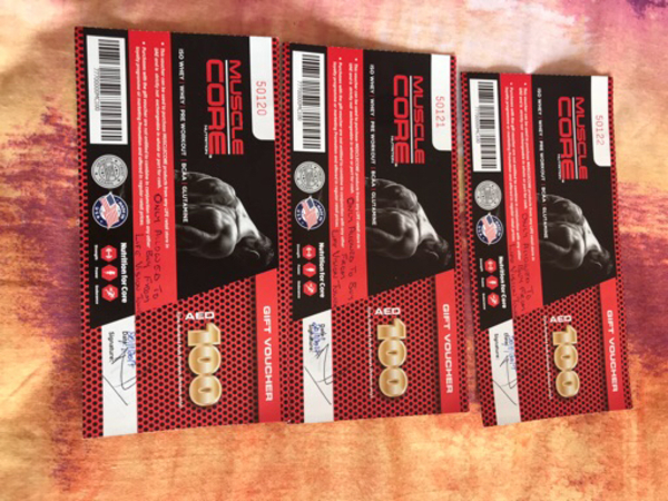 Used Muscle core voucher  in Dubai, UAE