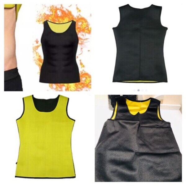 Used Neoprene Body Shaper tops size L 2 pcs in Dubai, UAE