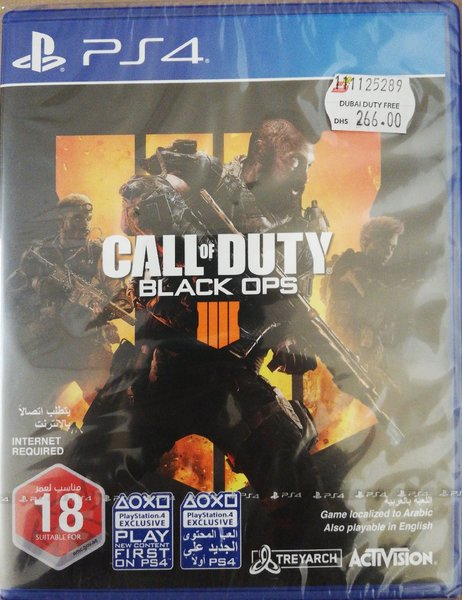 Used Call of Duty Black Ops 4 - PS4 in Dubai, UAE
