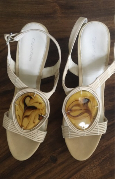 Authentic Calvin Klein wedges size 40
