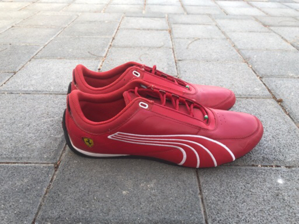 Used PUMA Ferrari shoes in Dubai, UAE