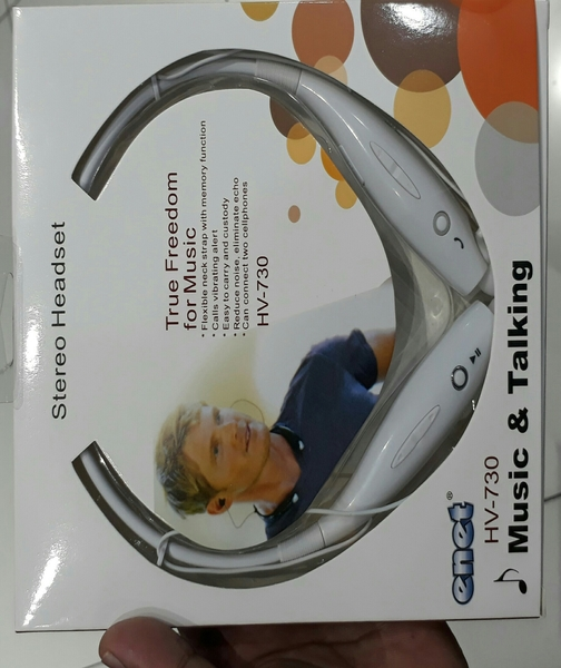 Used Enet Stereo Headset(two pis Brand New 74 Dhs With Delivery) in Dubai, UAE