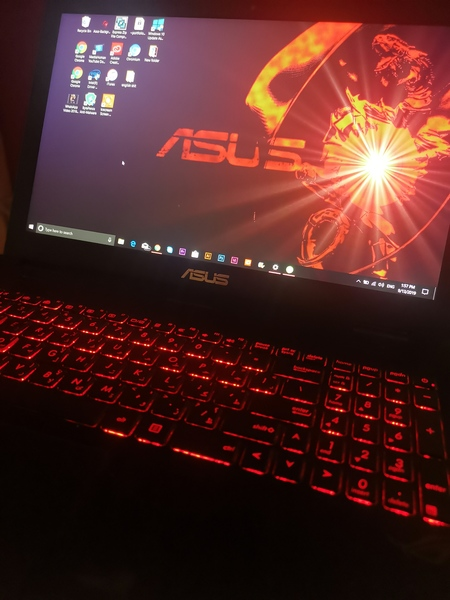 Used Asus gaming laptop in Dubai, UAE
