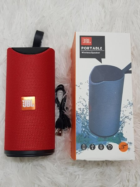Used JBL speakers higher sound portable red in Dubai, UAE