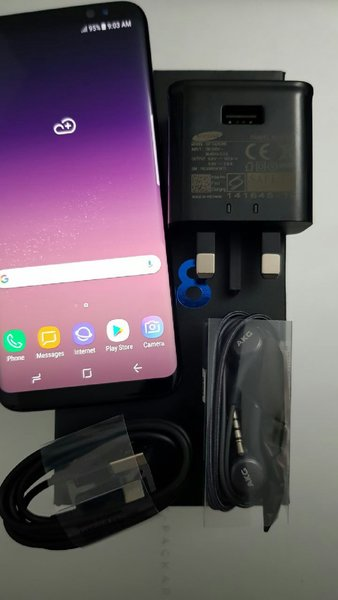 Used Samsung S8 midnight black in Dubai, UAE