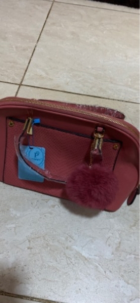 Used Women Hand Bag ( Pink Color ) in Dubai, UAE