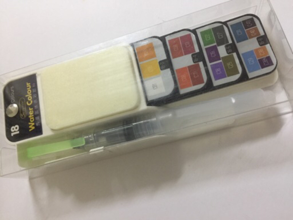 Used Watercolor kits 18 colors in Dubai, UAE