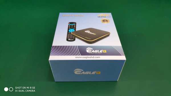 Eagle TV Box Android Device With 1 Year