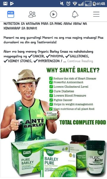 Used Sante barley pure organic in Dubai, UAE