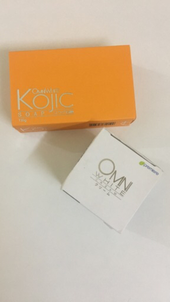 Used Omni Kojic Soap and Whitening Cream  in Dubai, UAE