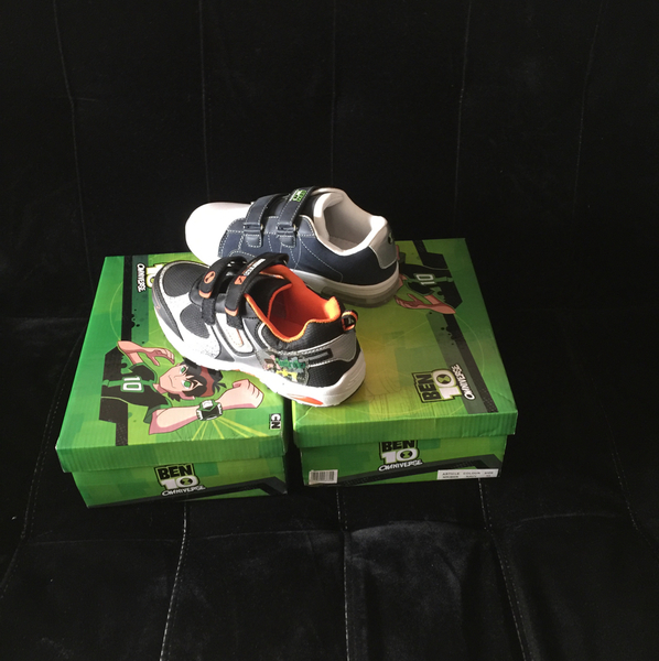 Ben10 Shoes Two Pairs Size 35 New#