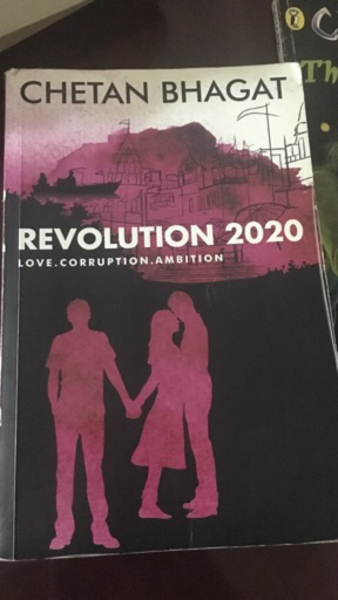 Used Chetan bhagat book- revolution 2020 in Dubai, UAE