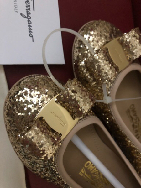 Used Original Ferragamo Shoes for kids (NEW) in Dubai, UAE