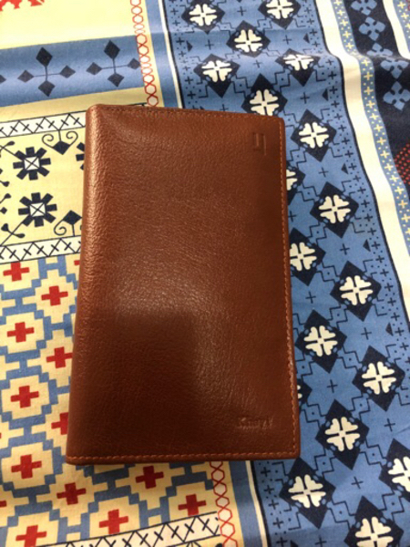 Pure Leather Wallet - Brown