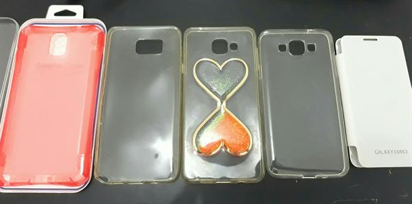 Used Mobile Covers A7 (6)/galaxy Core2 and So On Check My Profile.  in Dubai, UAE
