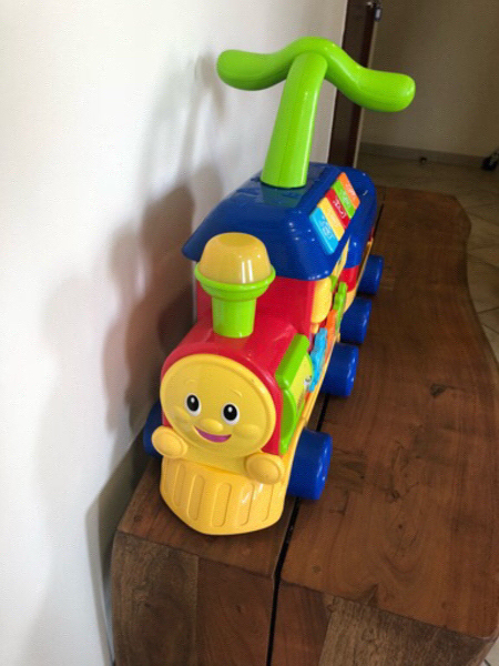 ELC Train Ride On & Push Walker