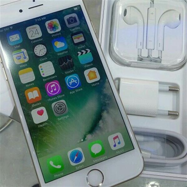 Used IPhone 6 Gold With Facetime Still In Pack in Dubai, UAE