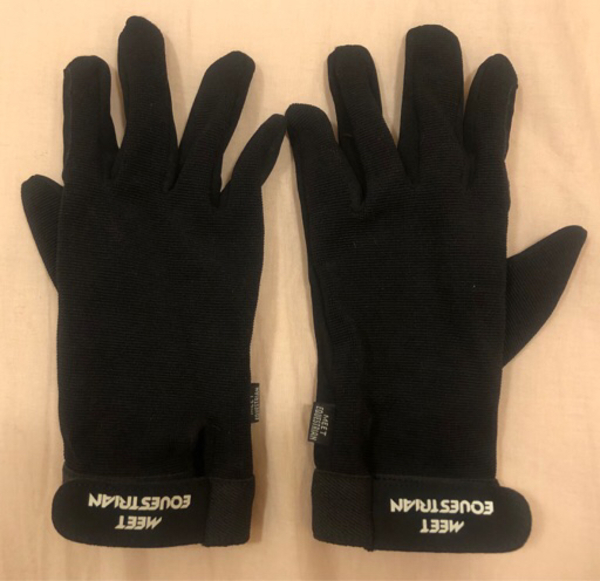 Used Horse riding black gloves in Dubai, UAE